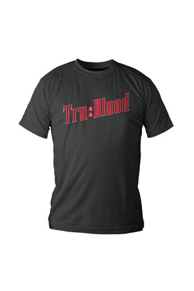 LOGO BEBIDA CAMISETA CHICO T-L TRUE BLOOD