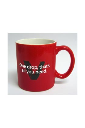 ONE DROP THAT'S ALL YOU NEED TAZA CERAMICA TRUE BLOOD