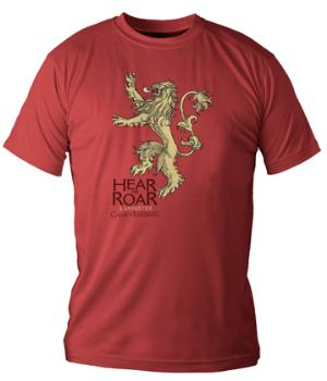 HEAR ME ROAR LANNISTER CAMISETA CHICO T-S GAME OF THRONES