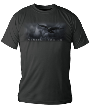 WINTER IS COMING LOGO CAMISETA CHICO T-S GAME OF THRONES