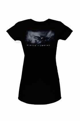 WINTER IS COMING LOGO CAMISETA CHICA T-S GAME OF THRONES