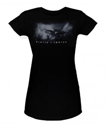 WINTER IS COMING LOGO CAMISETA CHICA T-L GAME ...