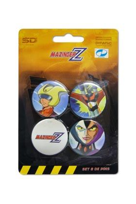 MAZINGER Z SET B DE 4 PINS MAZINGER Z