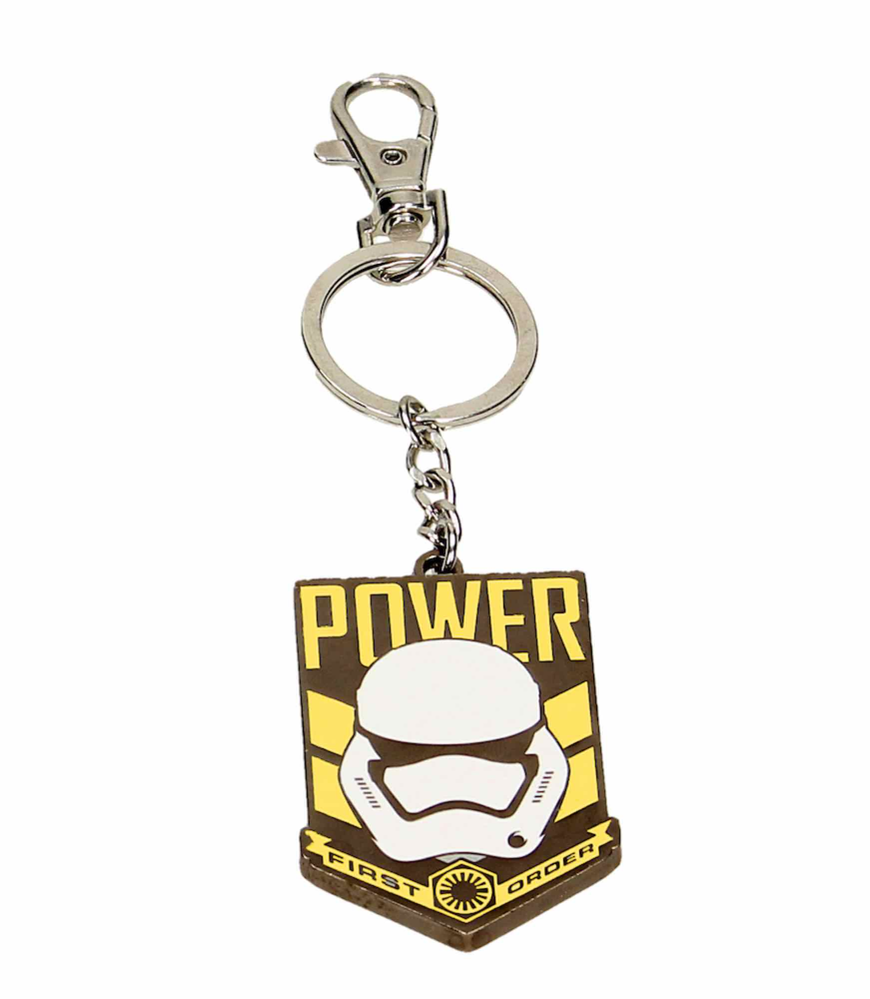 O.FLASH - POWER FIRST ORDER LLAVERO METAL STAR WARS EP7