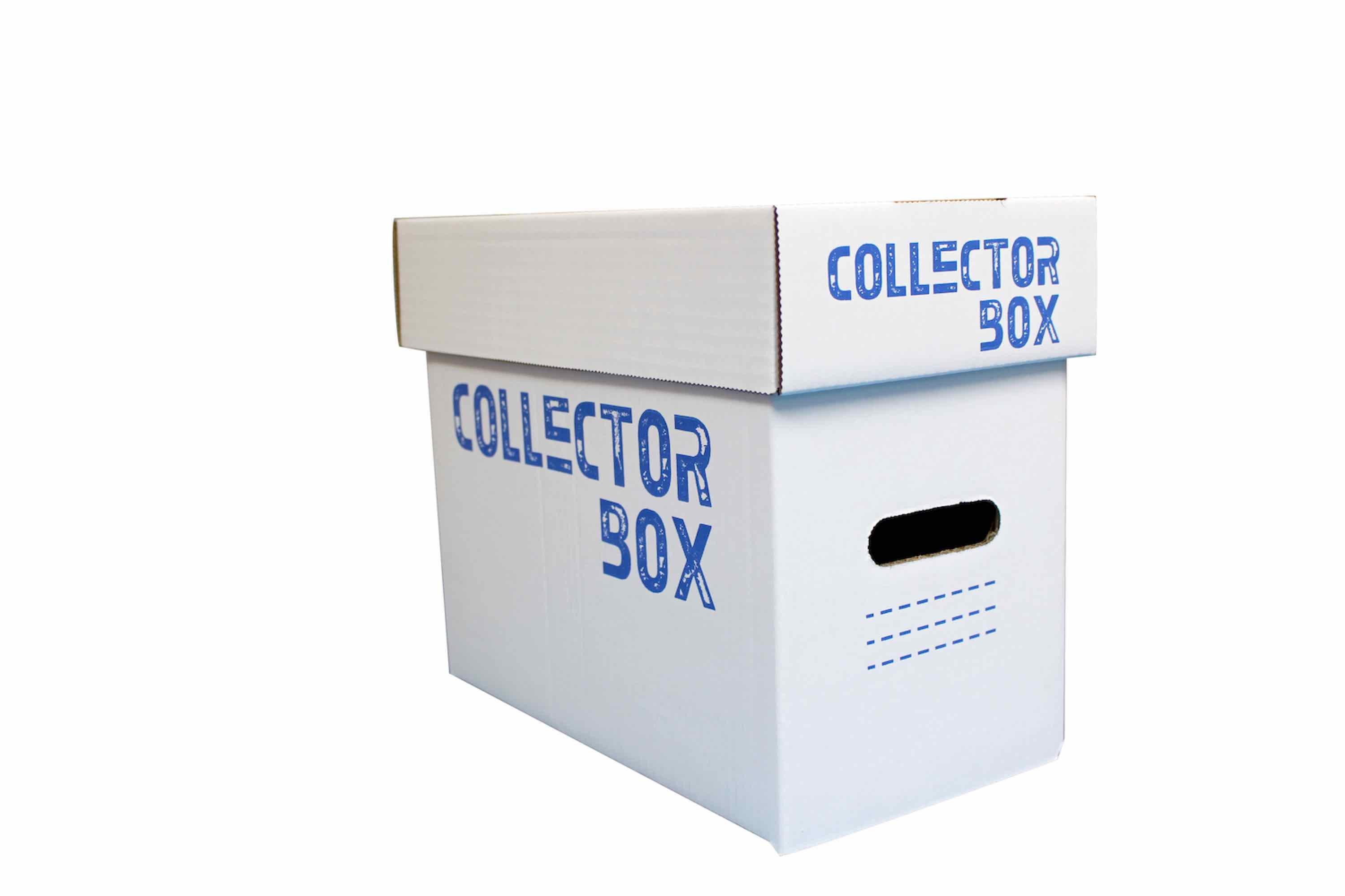 COLLECTOR BOX CAJA INDIVIDUAL CARTON 30x20x30 CM