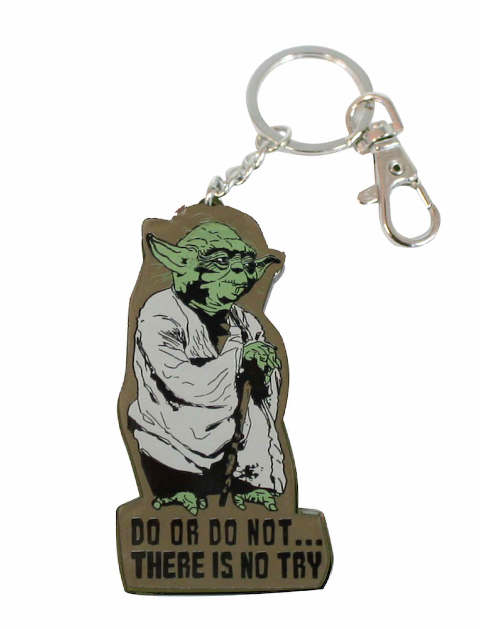 O.FLASH - YODA LLAVERO MOSQUETON STAR WARS