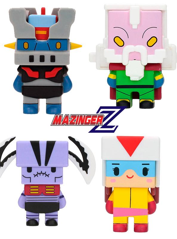 PIXEL 003 SET 4 FIGURAS 7 CM. MAZINGER Z