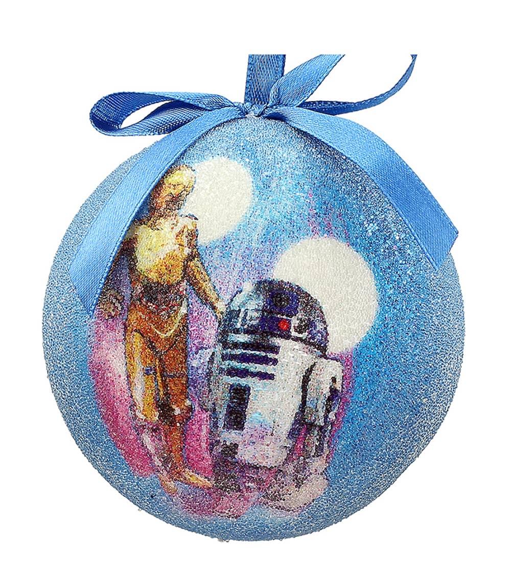 C-3PO Y R2-D2 BOLA NAVIDAD STAR WARS