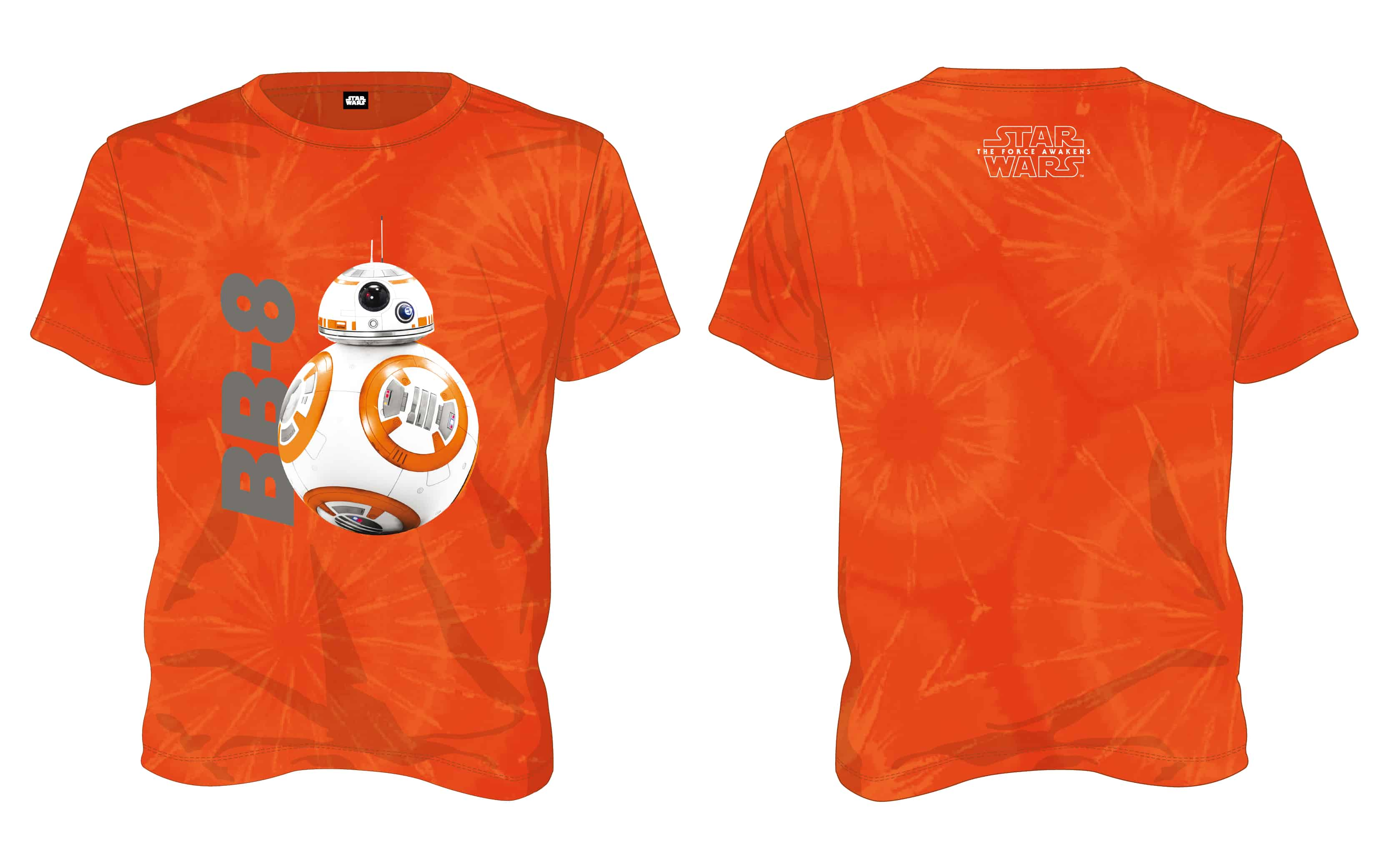 O.FLASH - BB-8 CAMISETA TIE NARANJA CHICO T-XL STAR WARS EP7