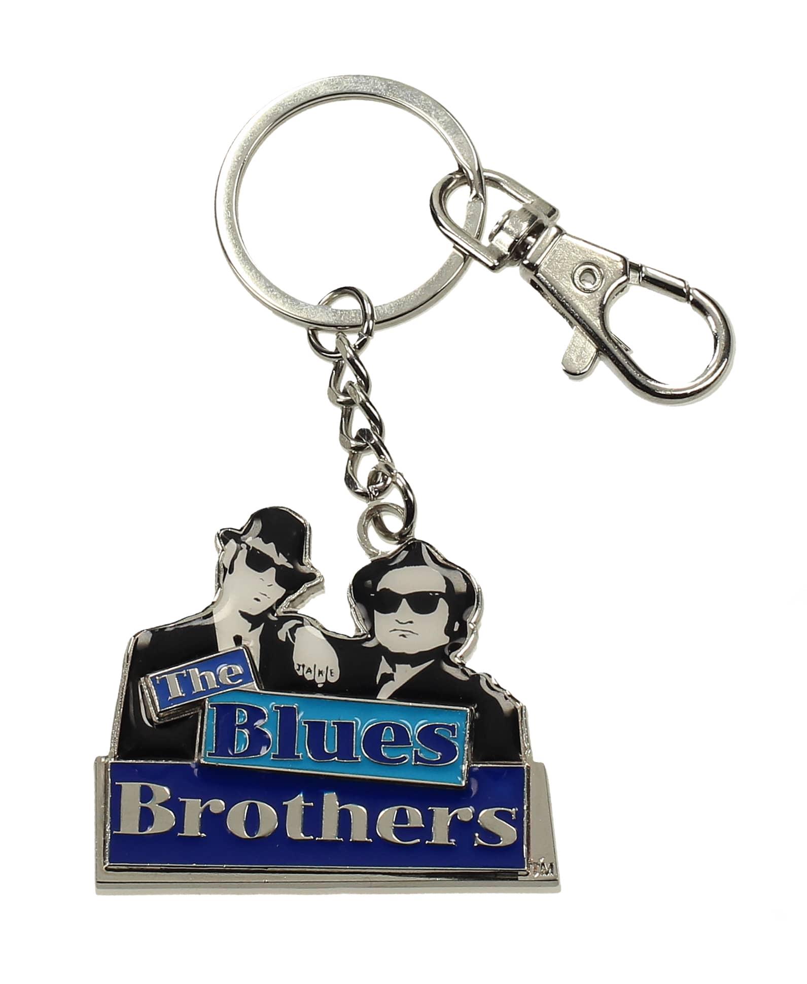 THE BLUES BROTHERS LOGO SILUETAS LLAVERO METAL THE BLUES BROTHERS