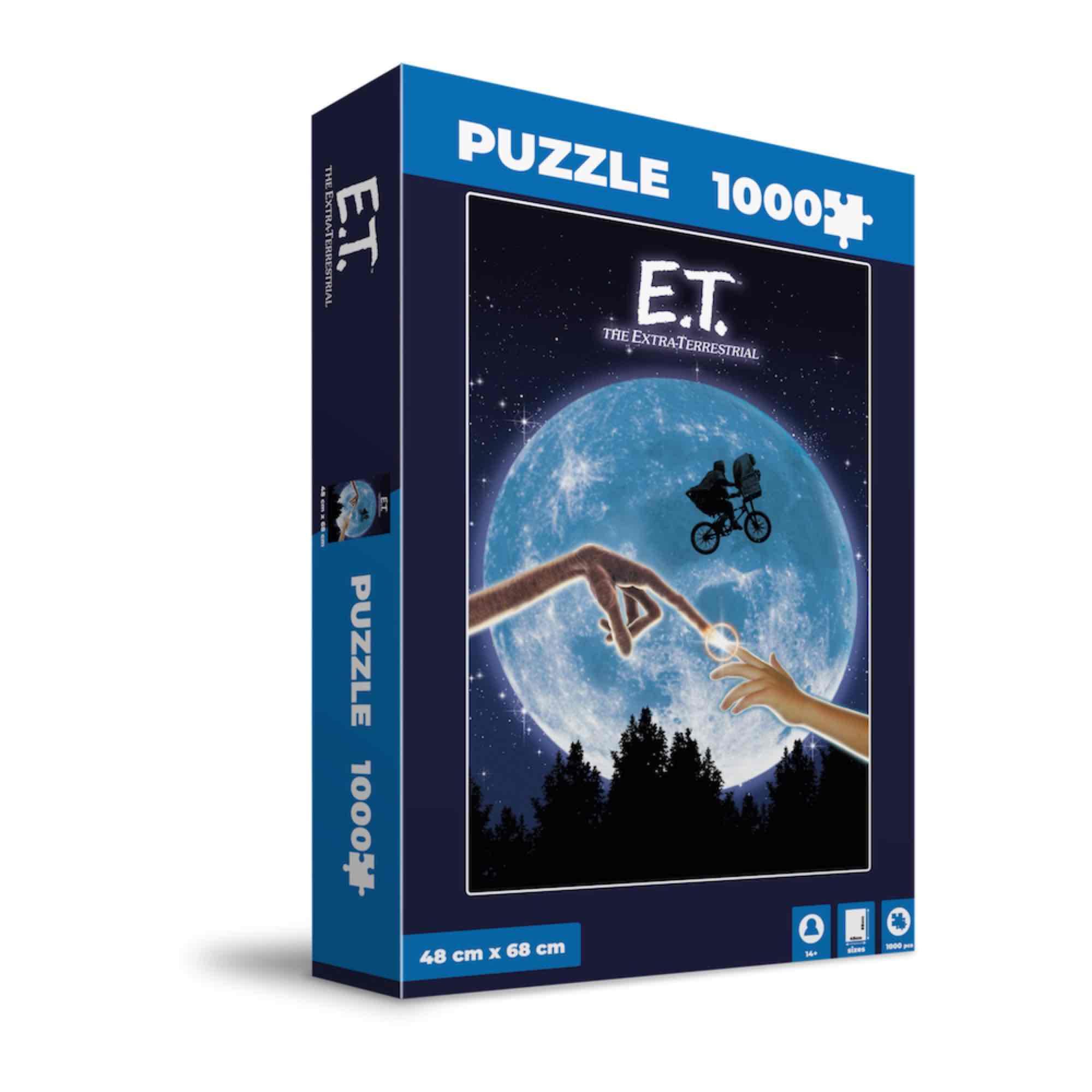 E.T. POSTER PELICULA PUZLE E.T.