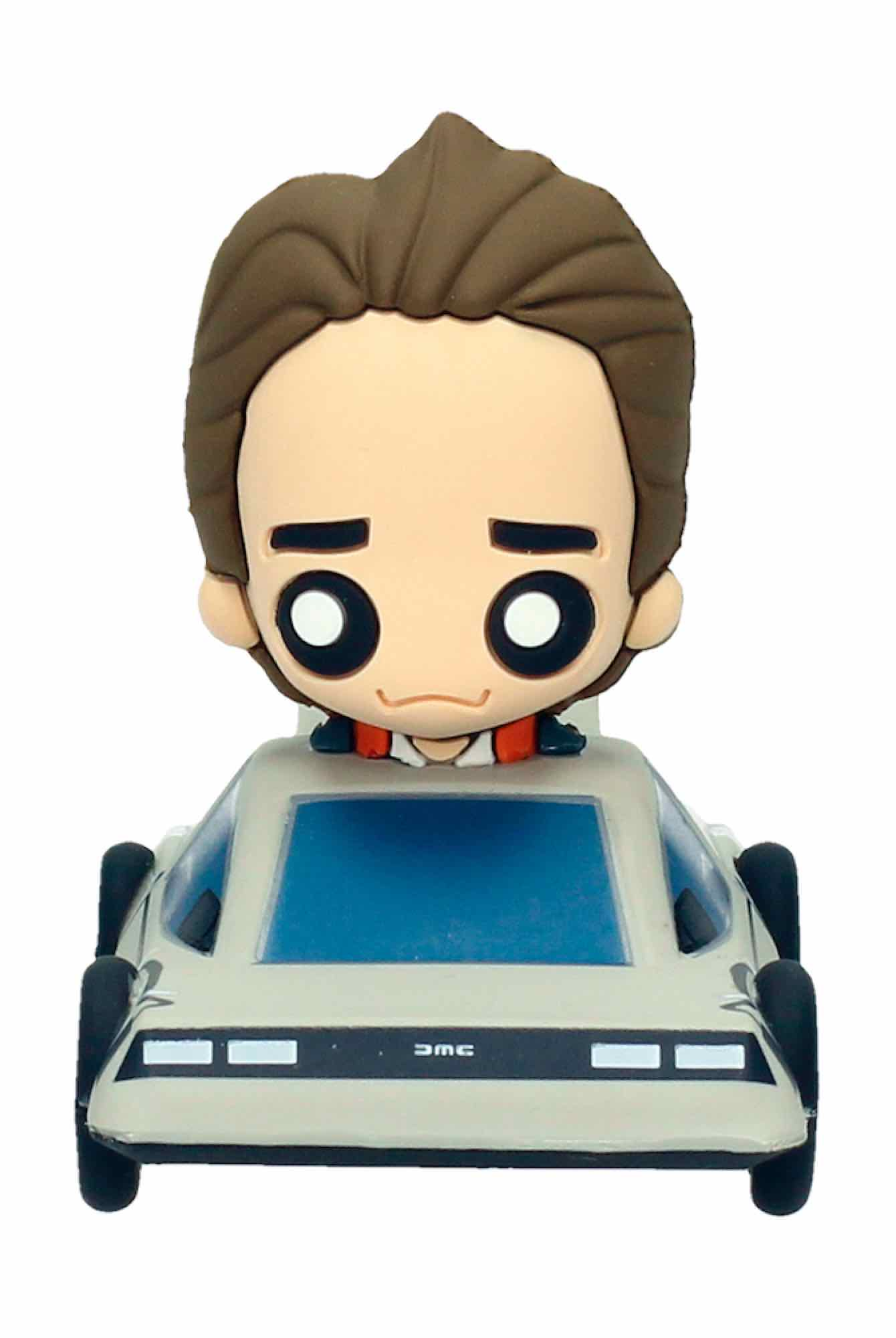 MARTY DELOREAN FIGURA GOMA POKIS REGRESO AL FUTURO