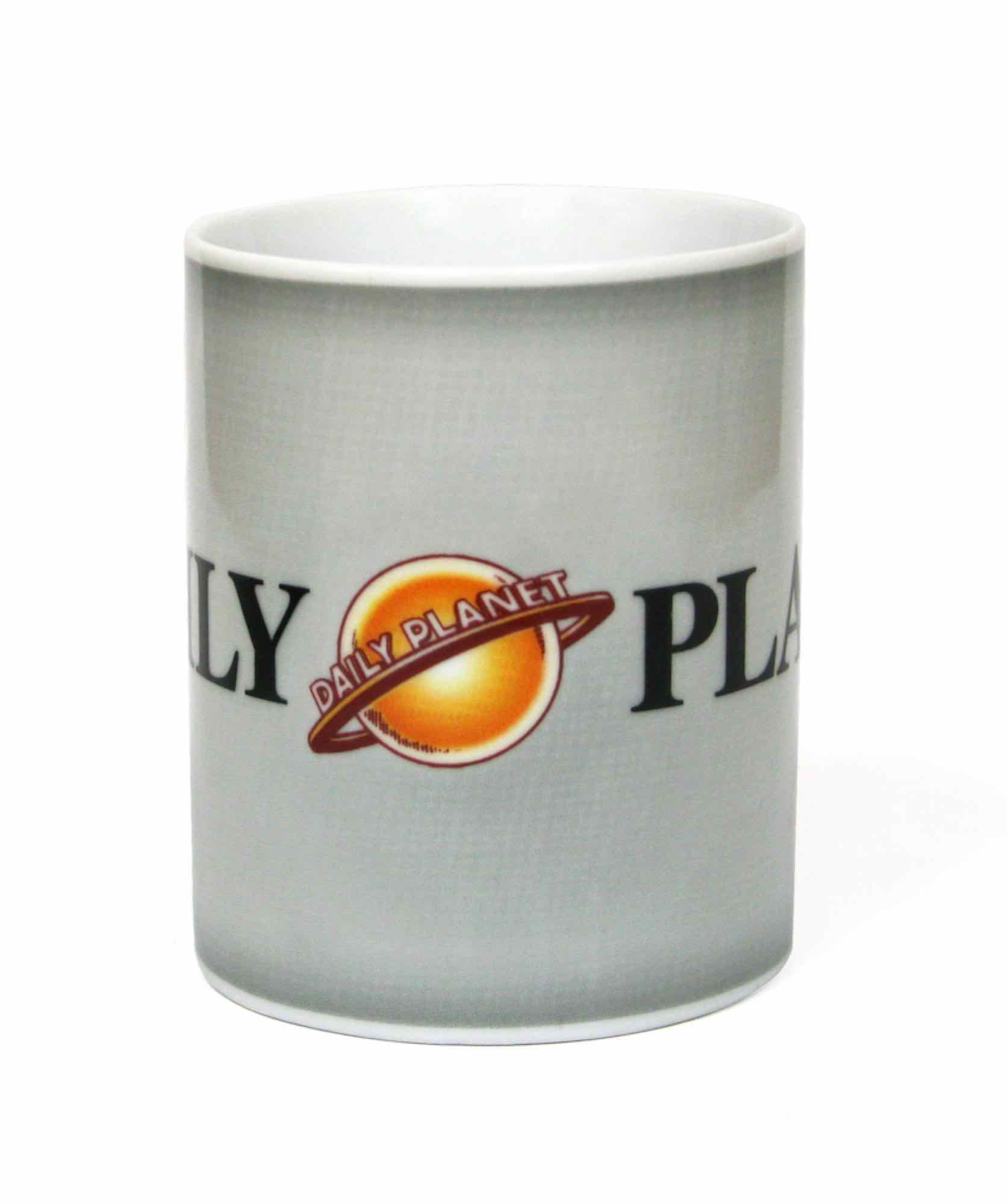 DAILY PLANET TAZA CERAMICA MAN OF STEEL