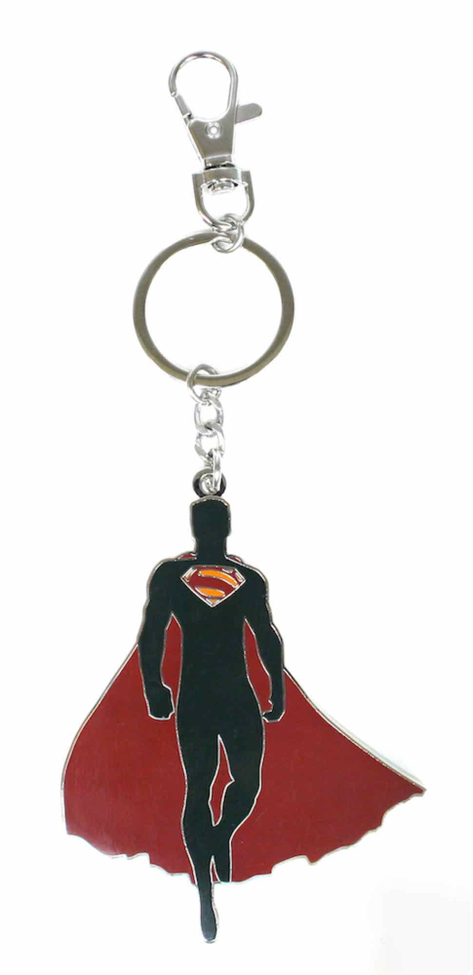 SILUETA SUPERMAN LLAVERO MAN OF STEEL