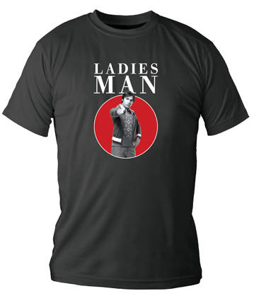 LADIES MAN CAMISETA NEGRA CHICO T-XL THE BIG BANG THEORY