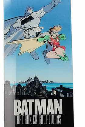 BATMAN Y ROBIN POSTER DE VIDRIO THE DARK KNIGHT RETURNS DC 30x60 CM