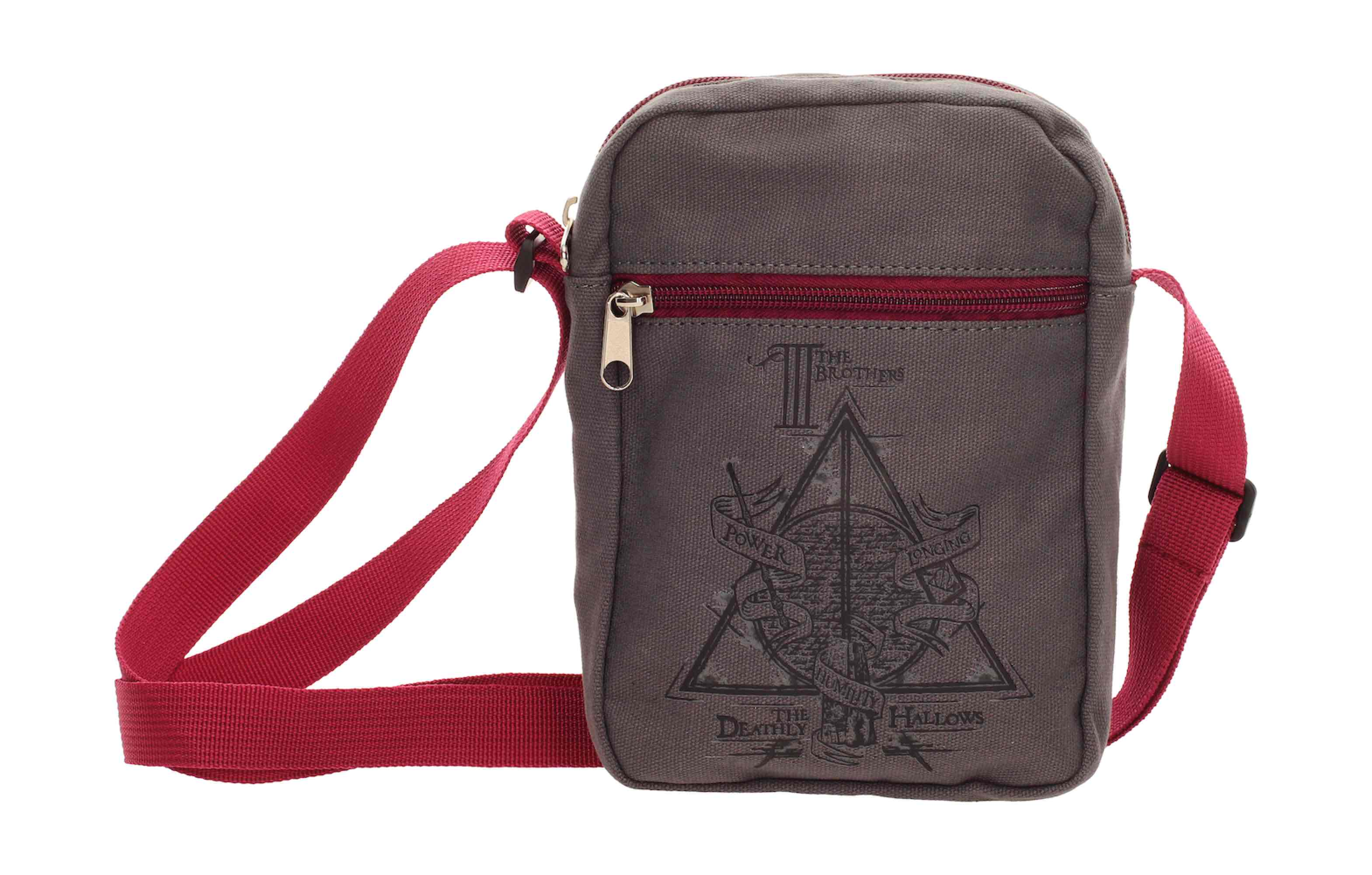 BOLSA PEQUEÑA TELA CANVAS DEATHLY HALLOWS HARRY POTTER
