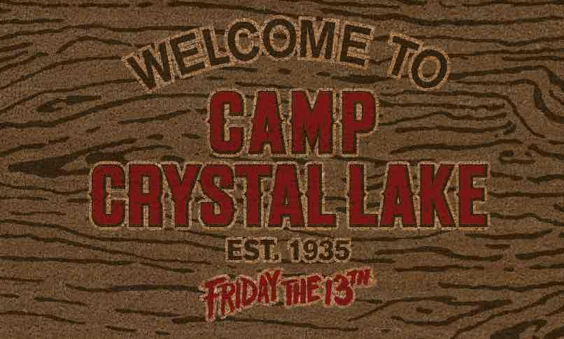 FELPUDO WELCOME CAMP CRYSTAL LAKE VIERNES 13