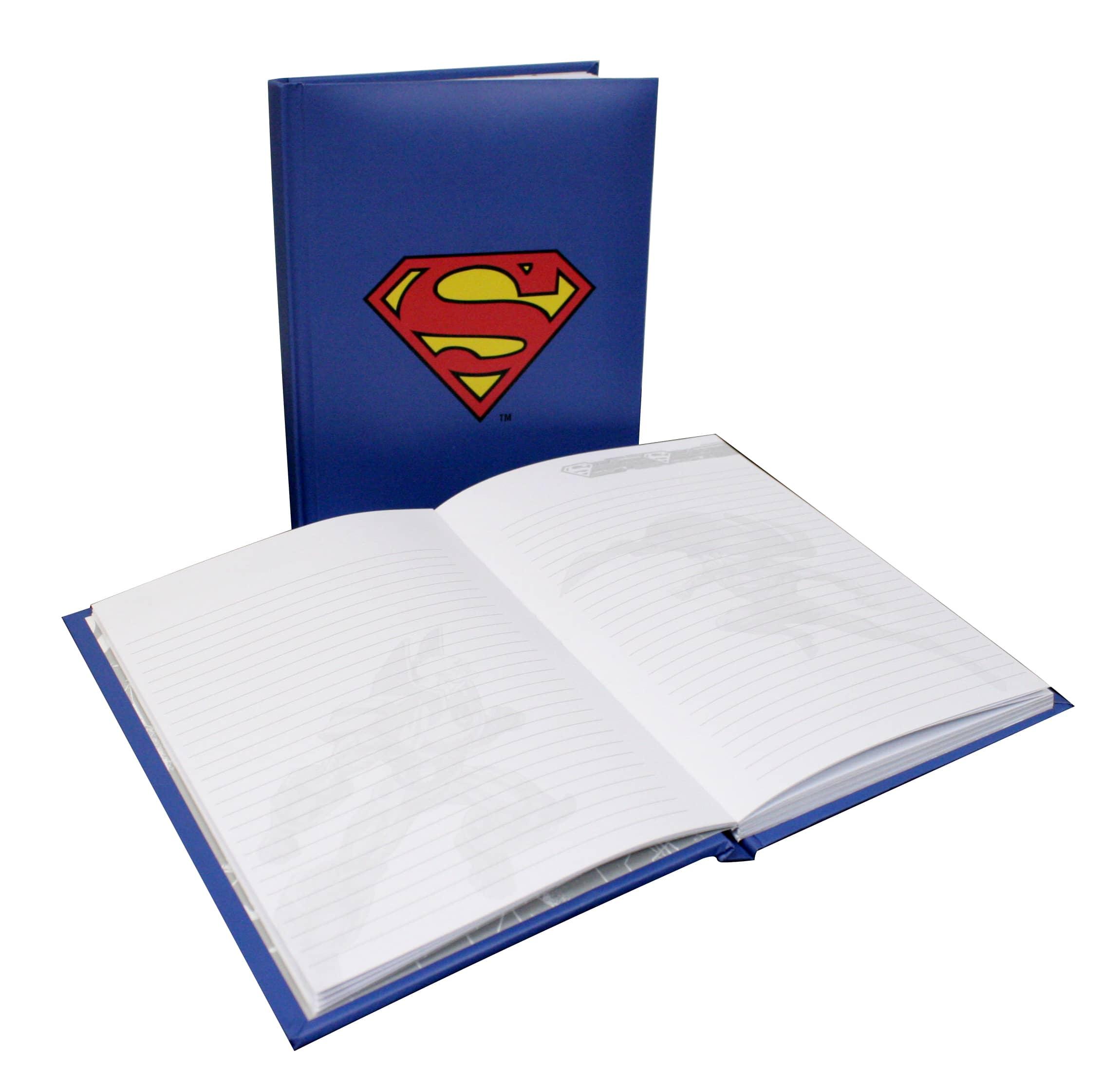 SUPERMAN LIBRETA CON LUZ DC
