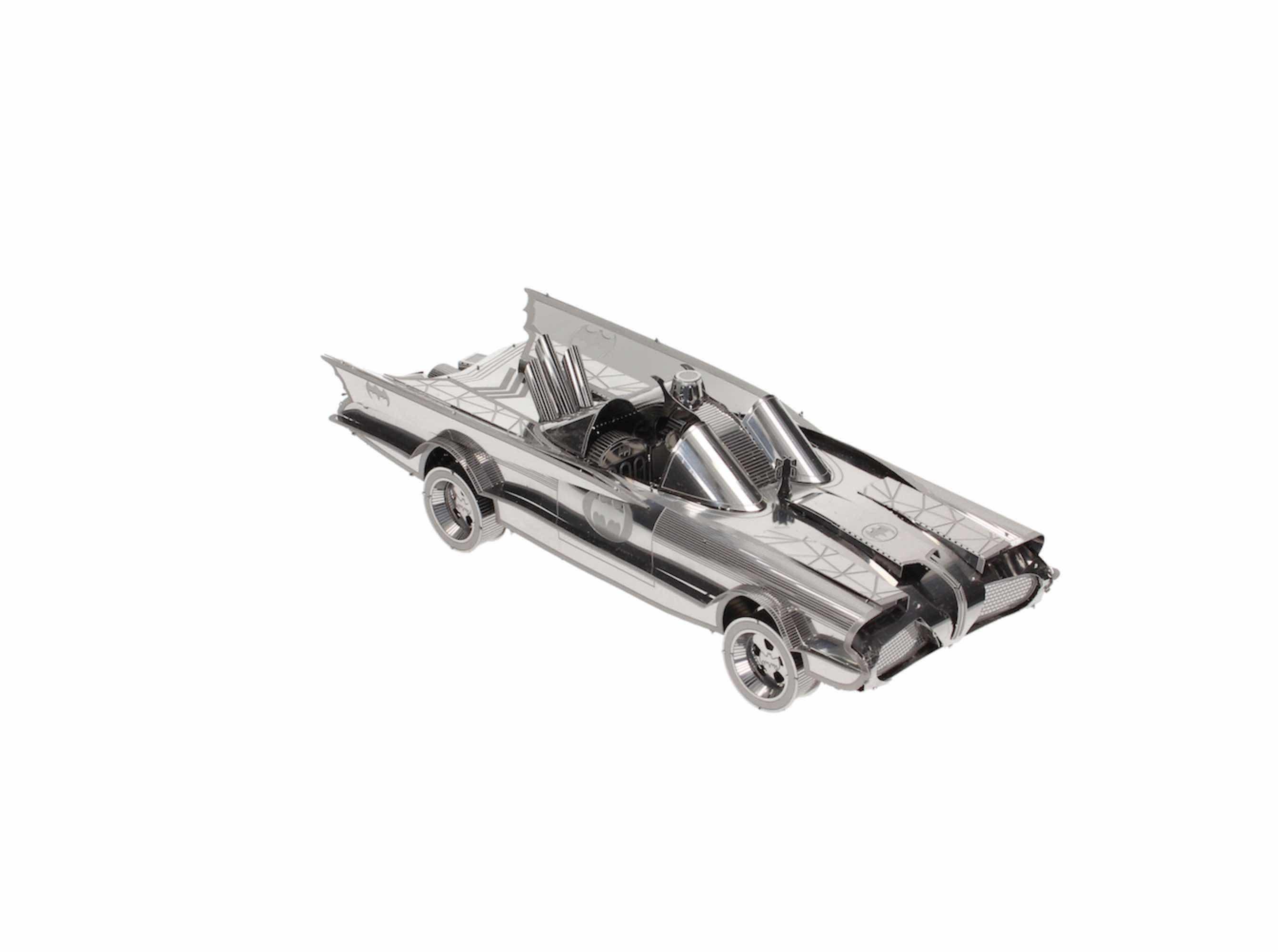 O.FLASH - BATMOVIL 1966 METAL MODEL KIT 3D BATMAN UNIVERSO DC