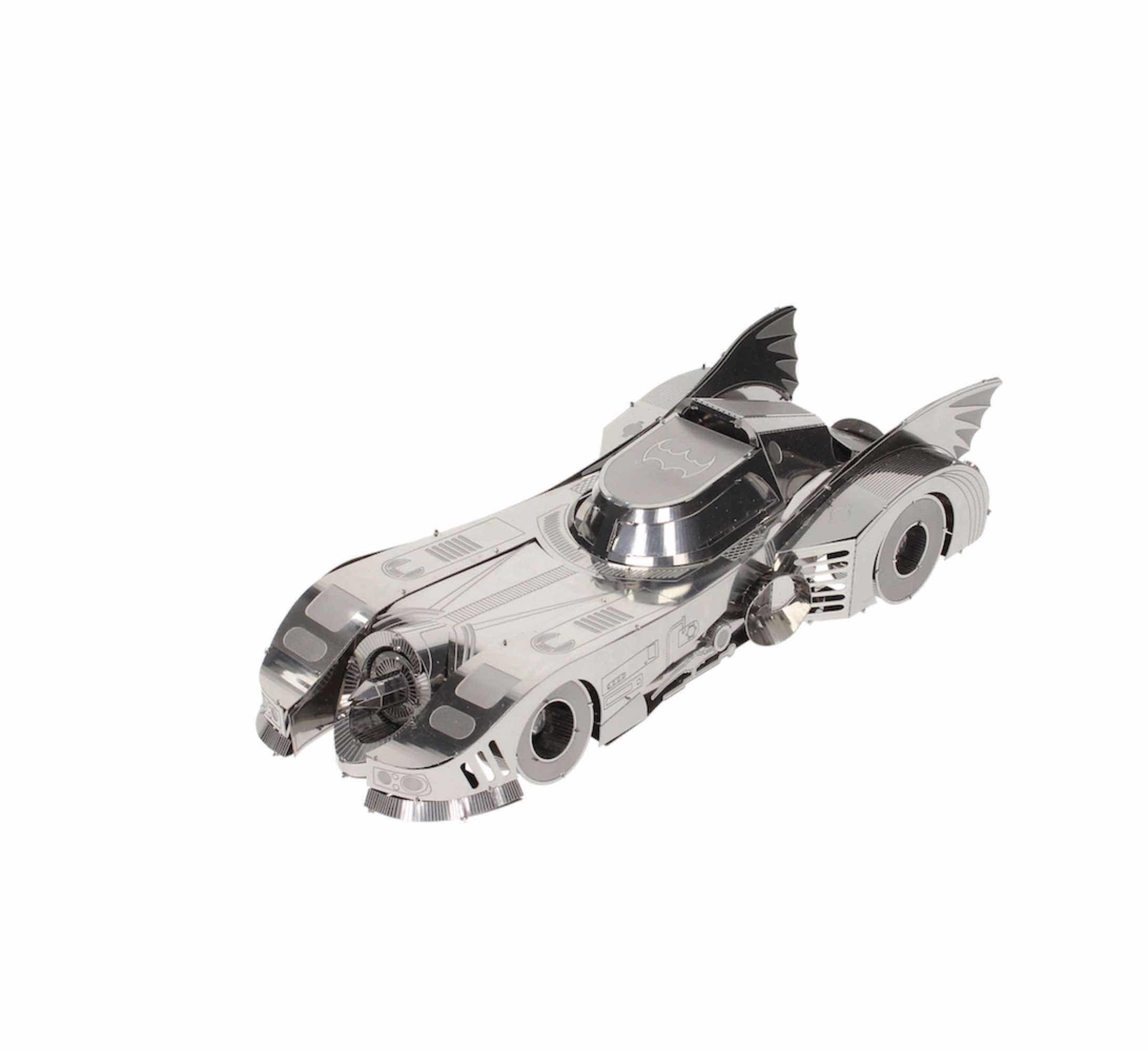 O.FLASH - BATMOVIL 1989 METAL MODEL KIT 3D UNIVERSO DC