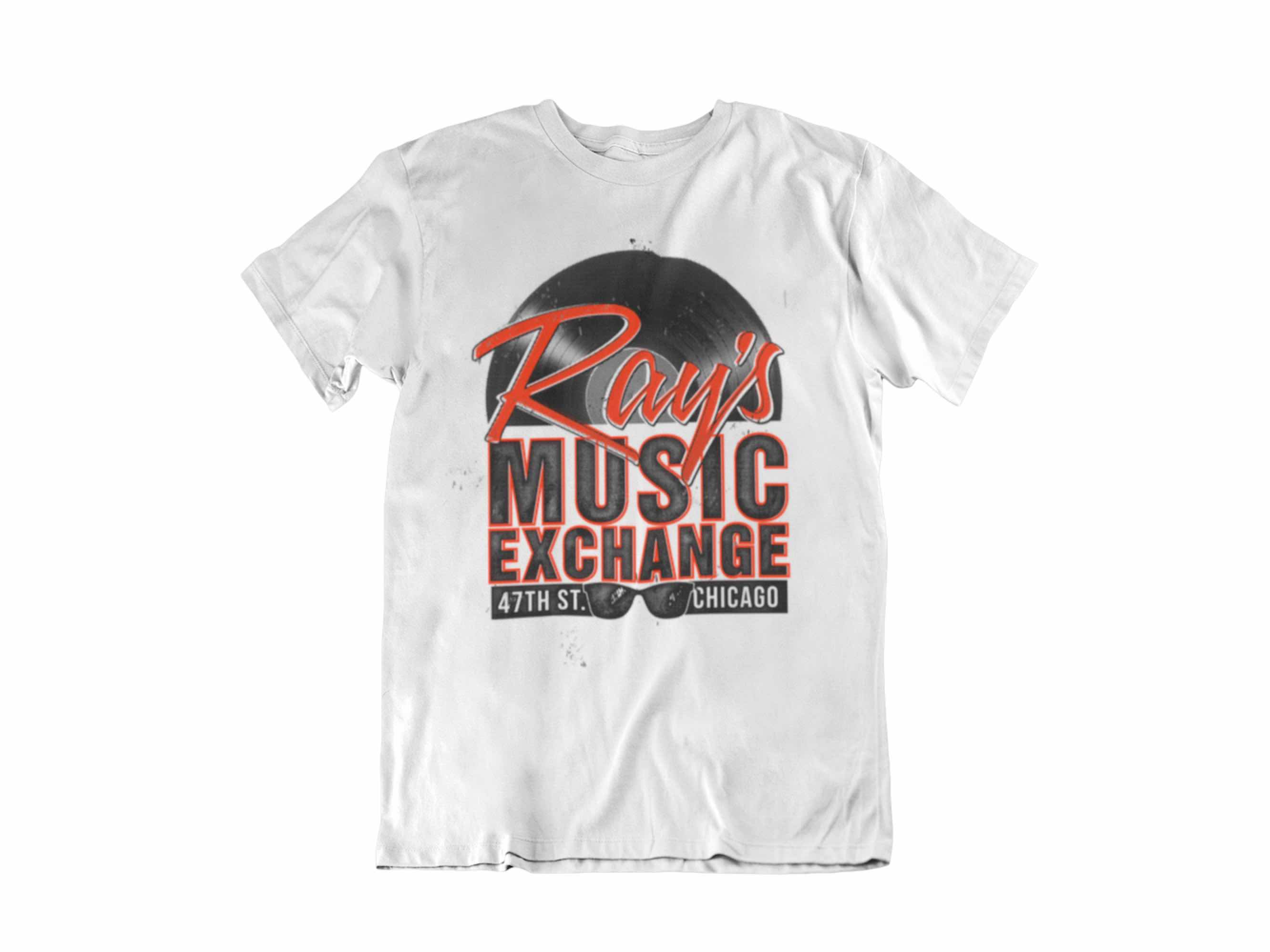 CAMISETA RAYS MUSIC EXCHANGE UNISEX TALLA XL THE BLUES BROTHERS