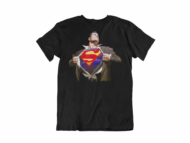 CAMISETA SUPERMAN ALEX ROSS UNISEX TALLA M