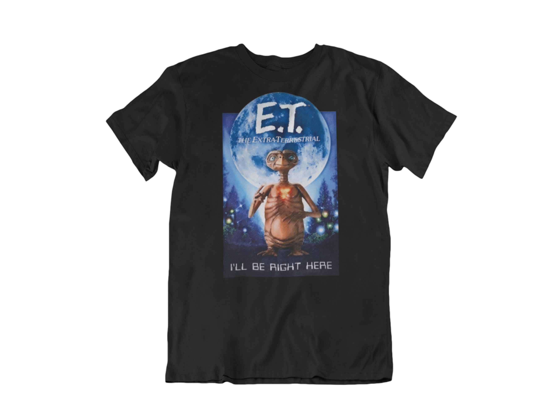 CAMISETA I'LL BE RIGHT HERE E.T. T-2XL