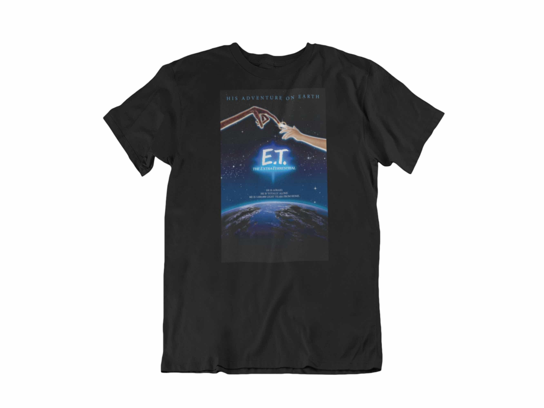 CAMISETA POSTER 82 ORIGINAL E.T. T-M