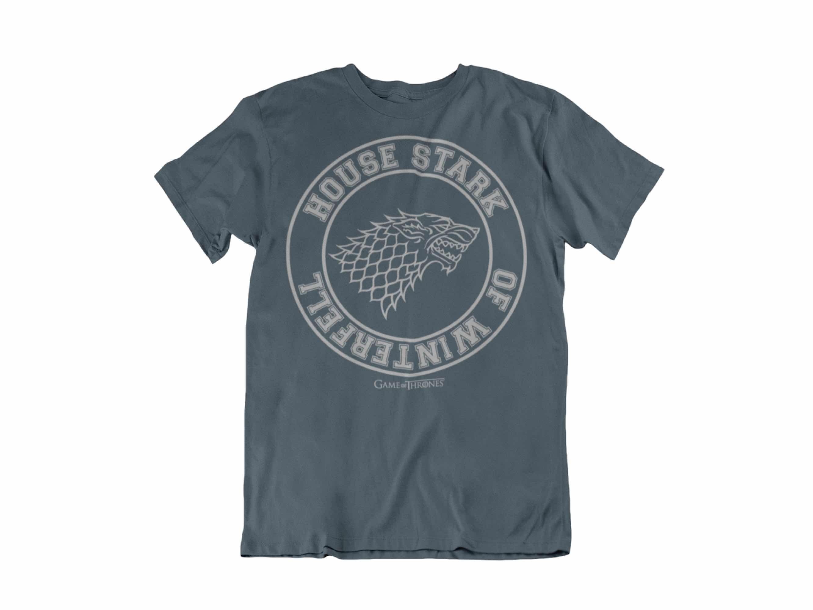 CAMISETA HOUSE STARK OF WINTERFELL UNISEX TALLA M GAME OF THRONES