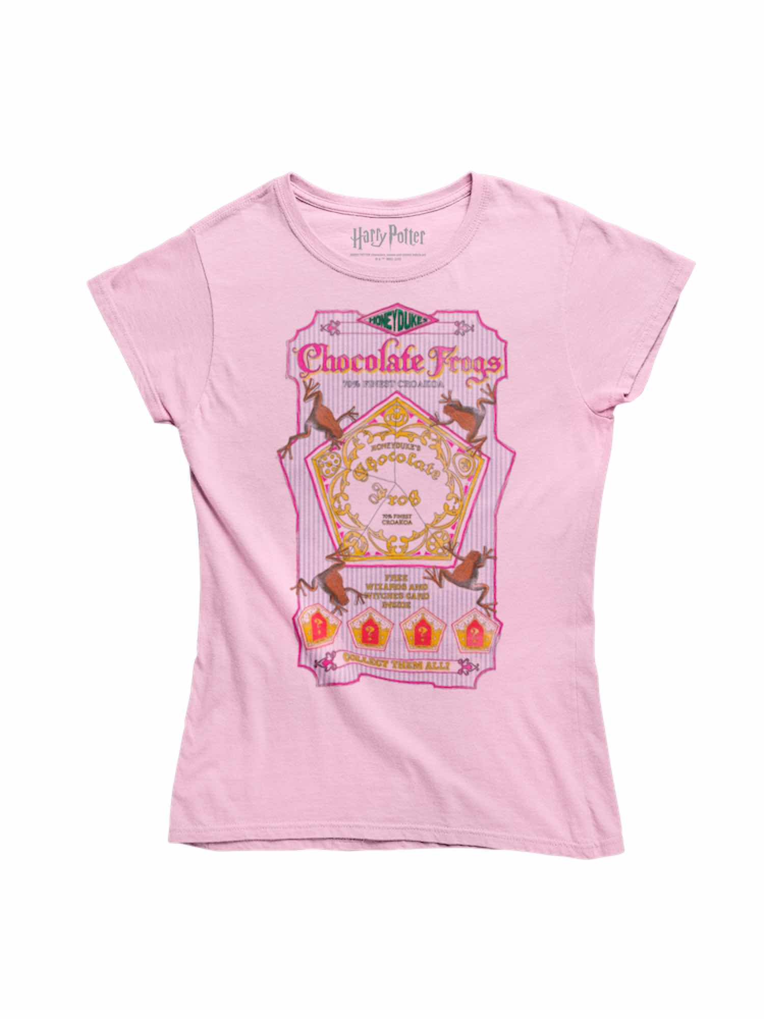 CAMISETA HARRY POTTER CHOCOLATE FROGS T-S
