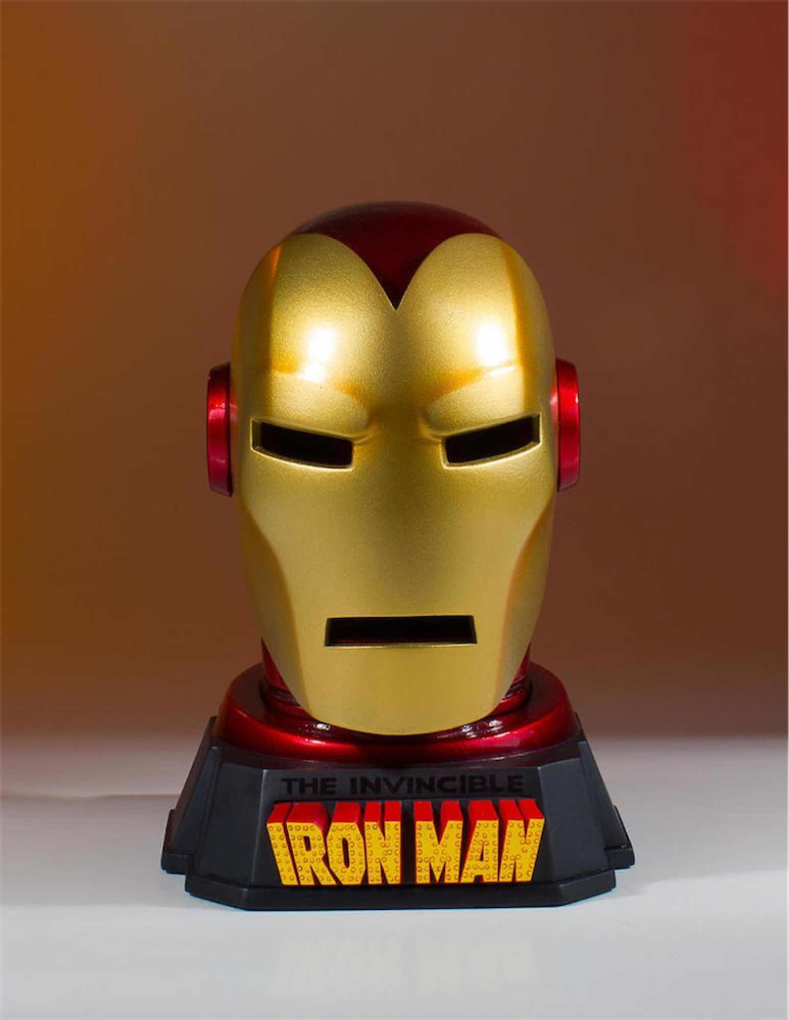 CASCO IRON MAN ARTICULO ESCRITORIO MARVEL GENTLE GIANT
