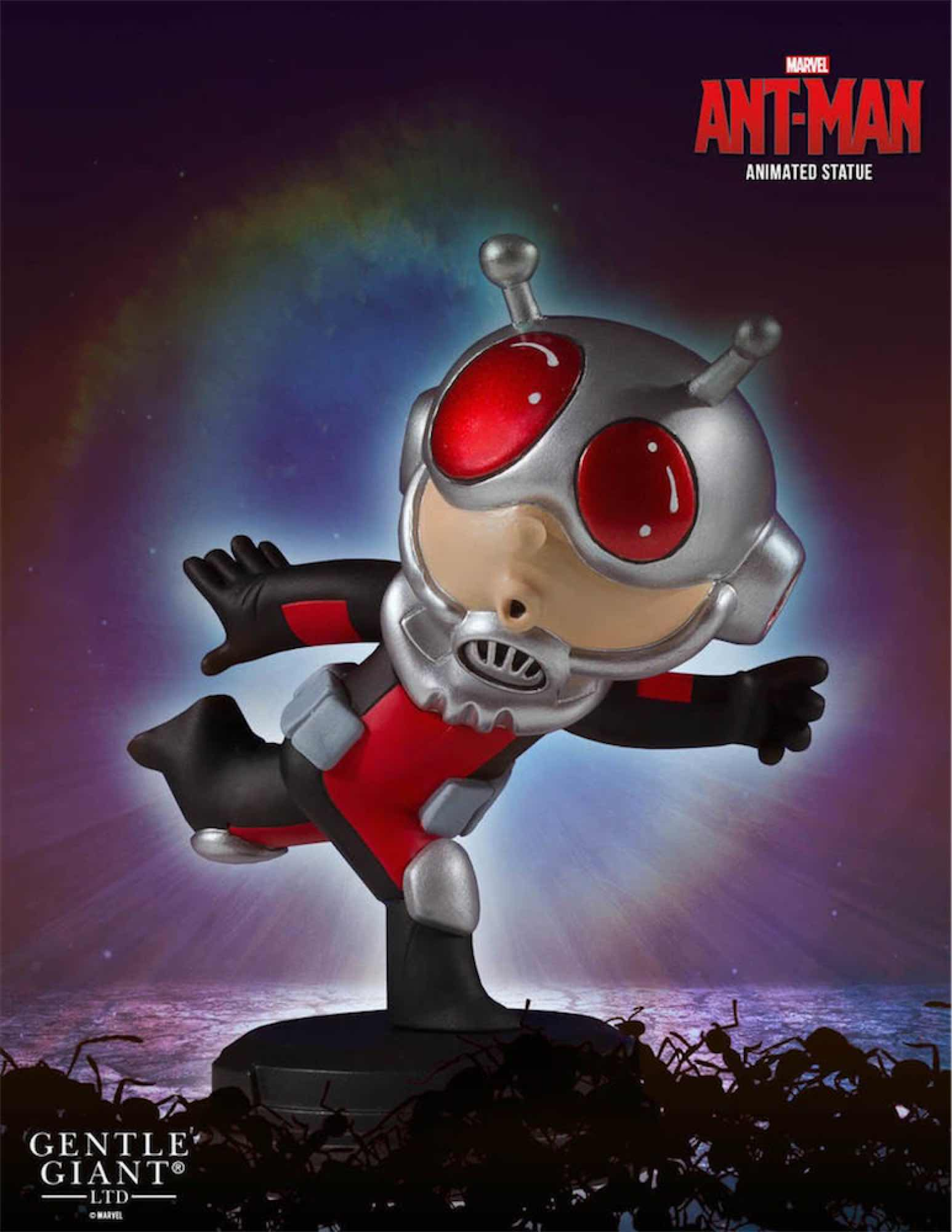 ANT-MAN ESTATUA MARVEL ANIMATED STATUE GENTLE GIANT