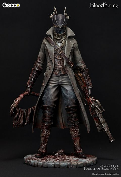HUNTER CHARCO DE SANGRE ESTATUA 32 CM BLOODBORNE