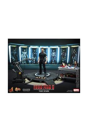 TONY STARK LIMITED EDITION FIGURA 30 CM SIXTH SCALE HOT TOYS IRON MAN 3