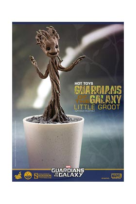 LITTLE GROOT FIGURA 12,7 CM (1:4) SCALE COLLECTIBLE FIGURE HOT TOYS GOG