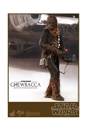 CHEWBACCA FIGURA 36 CM STAR WARS SIXTH SCALE FIGURE HOT TOYS