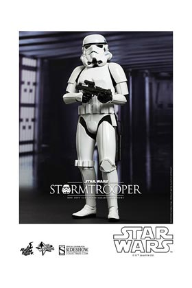 STORMTROOPER FIGURA 30 CM SIXTH SCALE HOT TOYS STAR WARS