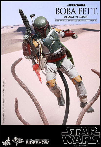 BOBA FETT DELUXE EPISODIO VI FIGURA 30 CM STAR WARS SIXTH SCALE FIGURE