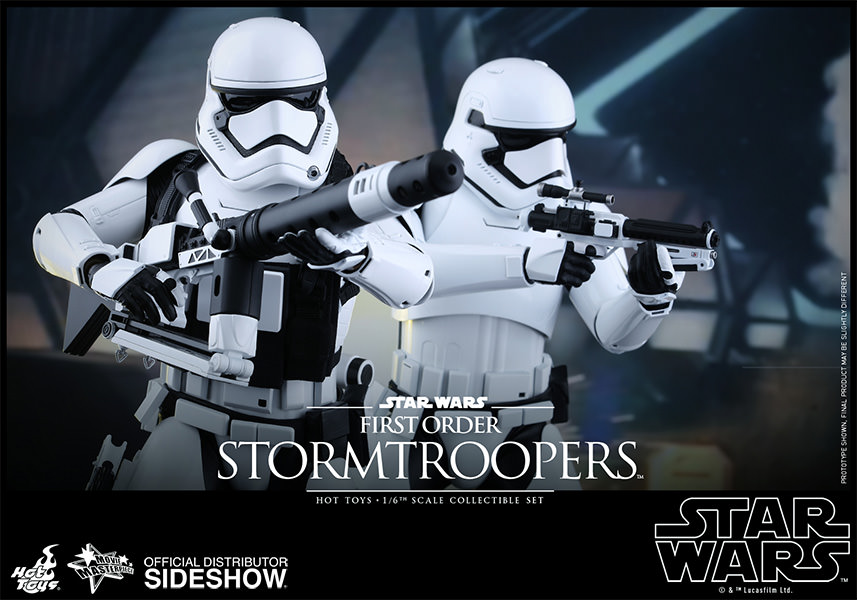 STORMTROOPER FIRST ORDER SET 2 FIGURAS 30 CM SIXTH SCALE STAR WARS EP VII