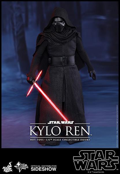 KYLO REN FIGURA 30 CM SIXTH SCALE STAR WARS EP VII