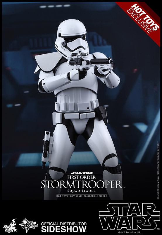 STORMTROOPER SQUAD LEADER FIRST ORDER FIGURA 30 CM SIXTH SCALE STAR WARS EP VII