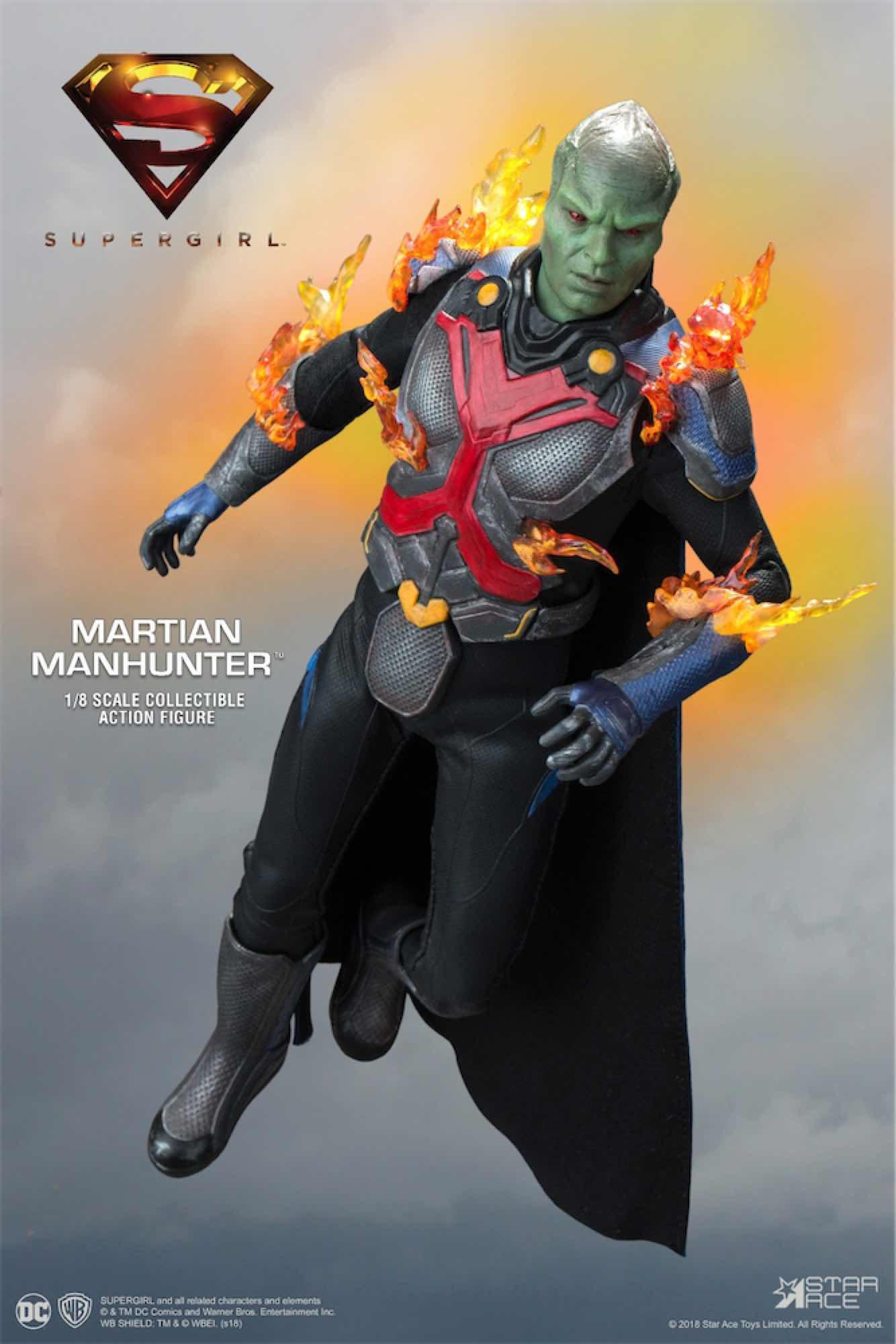 MARTIAN MANHUNTER VER. DELUXE FIGURA 22.5 CM SUPER GIRL TV 1/8 COLLECTIBLE ACTION FIGURE