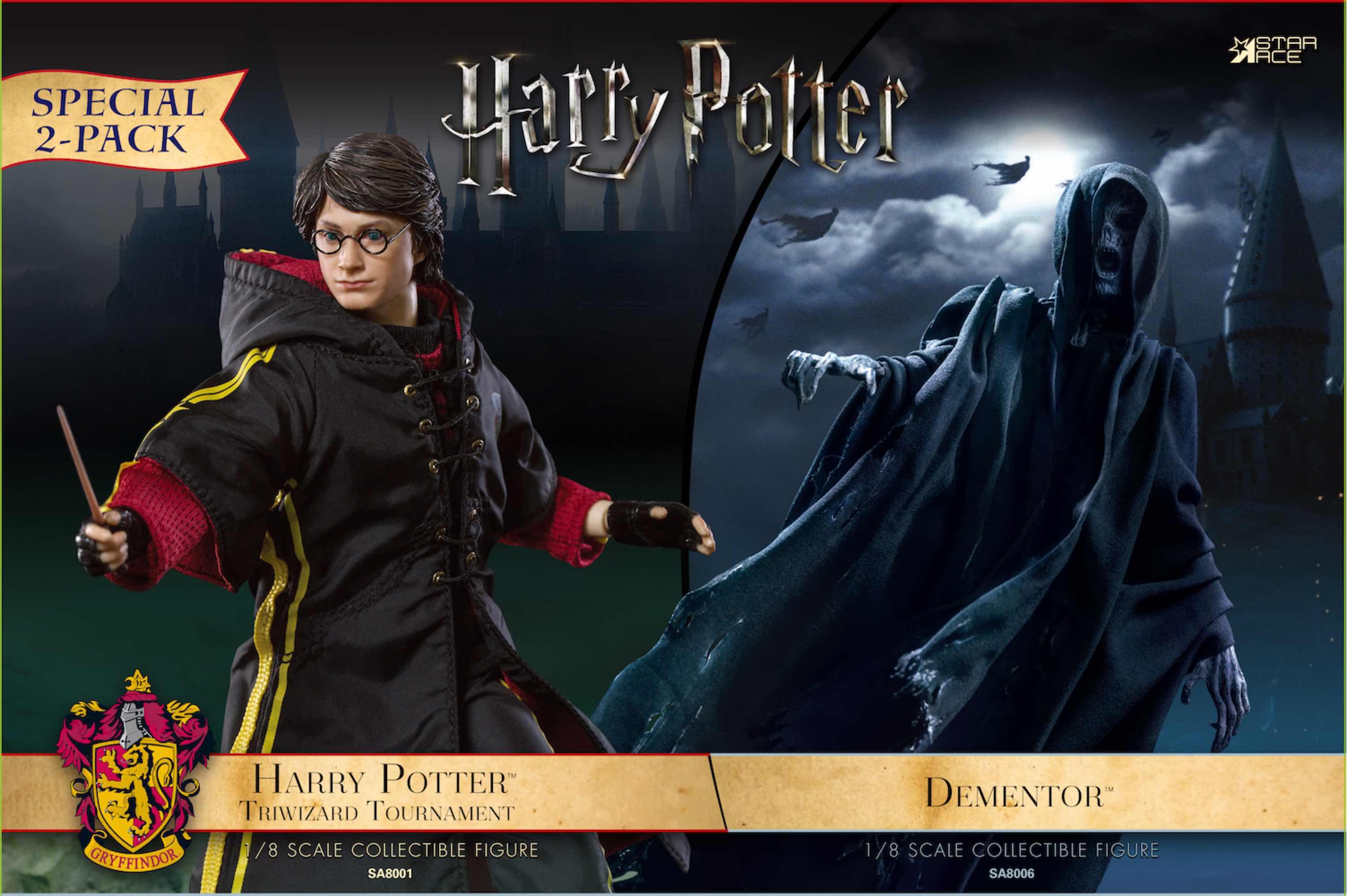 DEMENTOR & HARRY POTTER FIGURA 16 CM HARRY POTTER STAR ACE