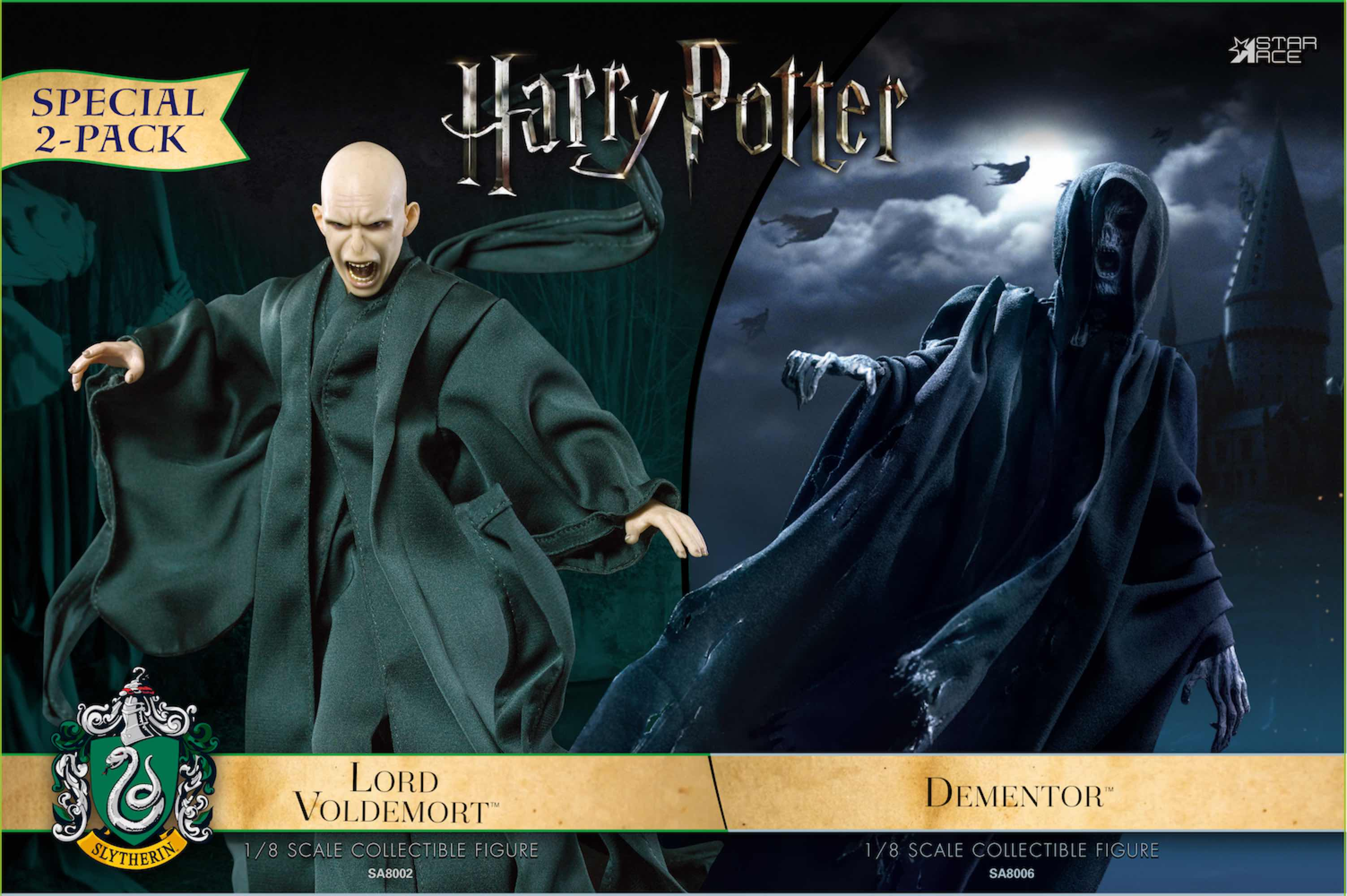 DEMENTOR & LORD VOLDEMORT FIGURA 16 CM HARRY POTTER STAR ACE