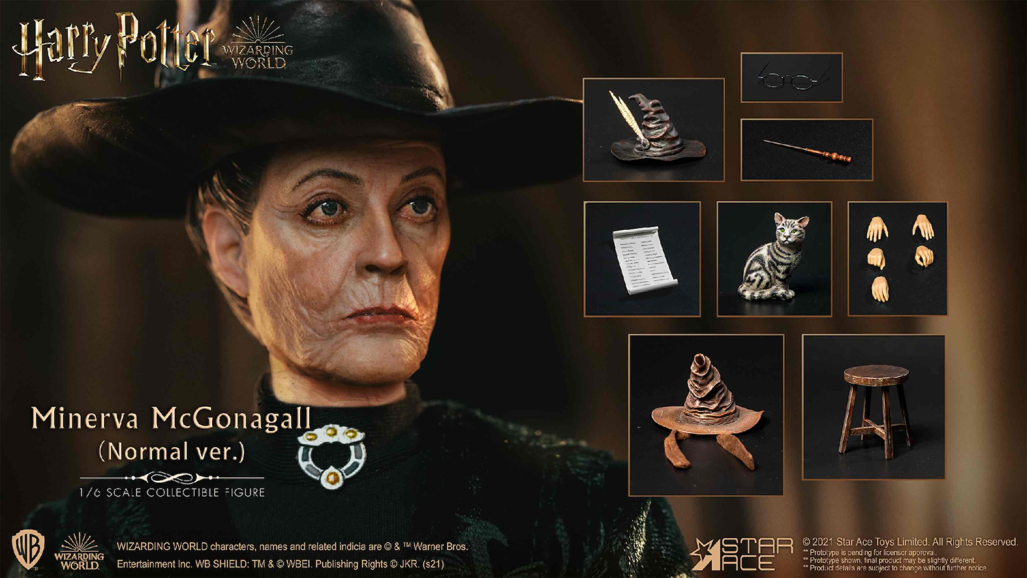 MINERVA MCGONAGALL NORMAL VER. FIGURA 29 CM HA...