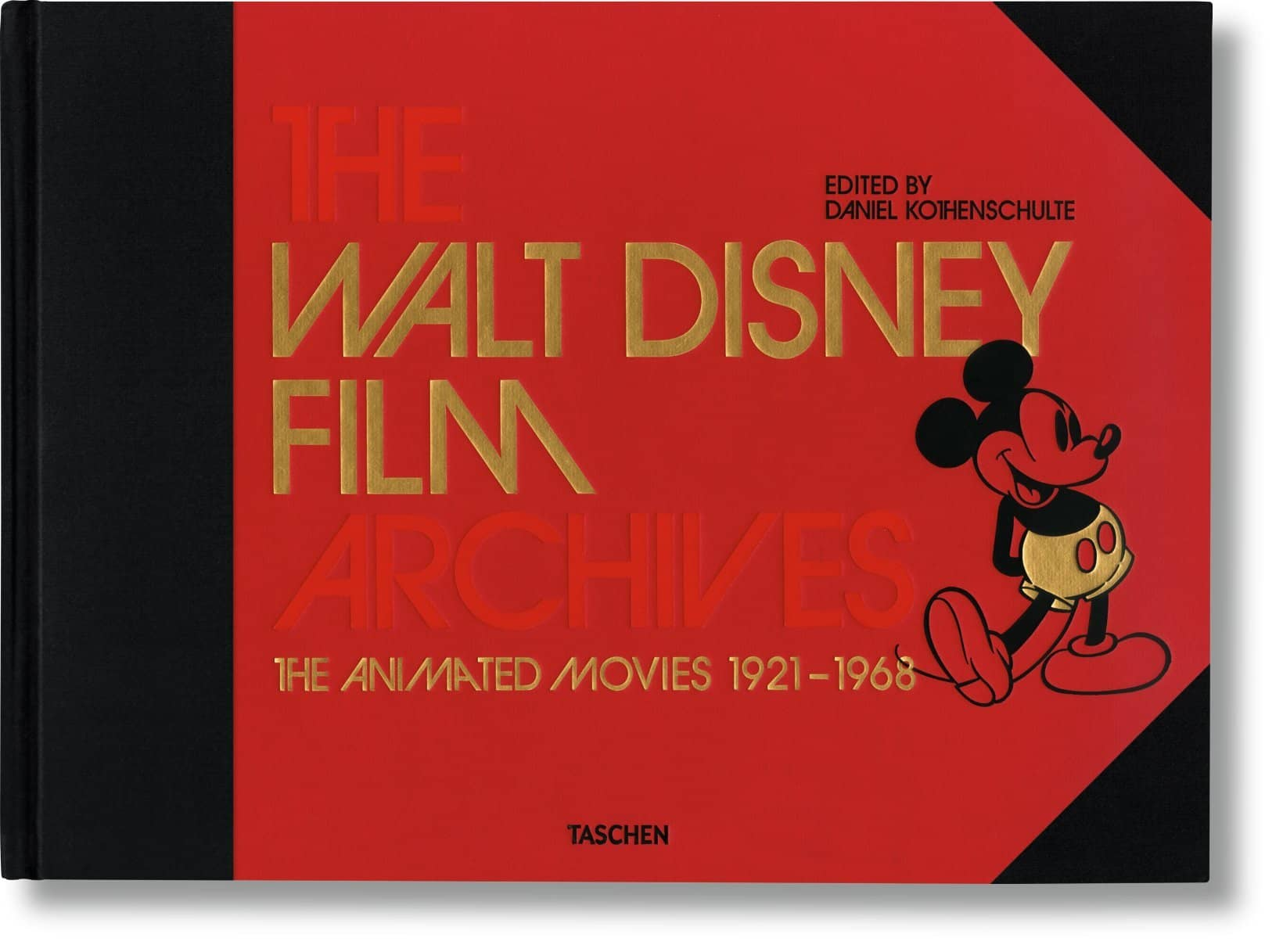 THE WALT DISNEY FILM ARCHIVES (THE ANIMATED MOVIES 1921-1968)