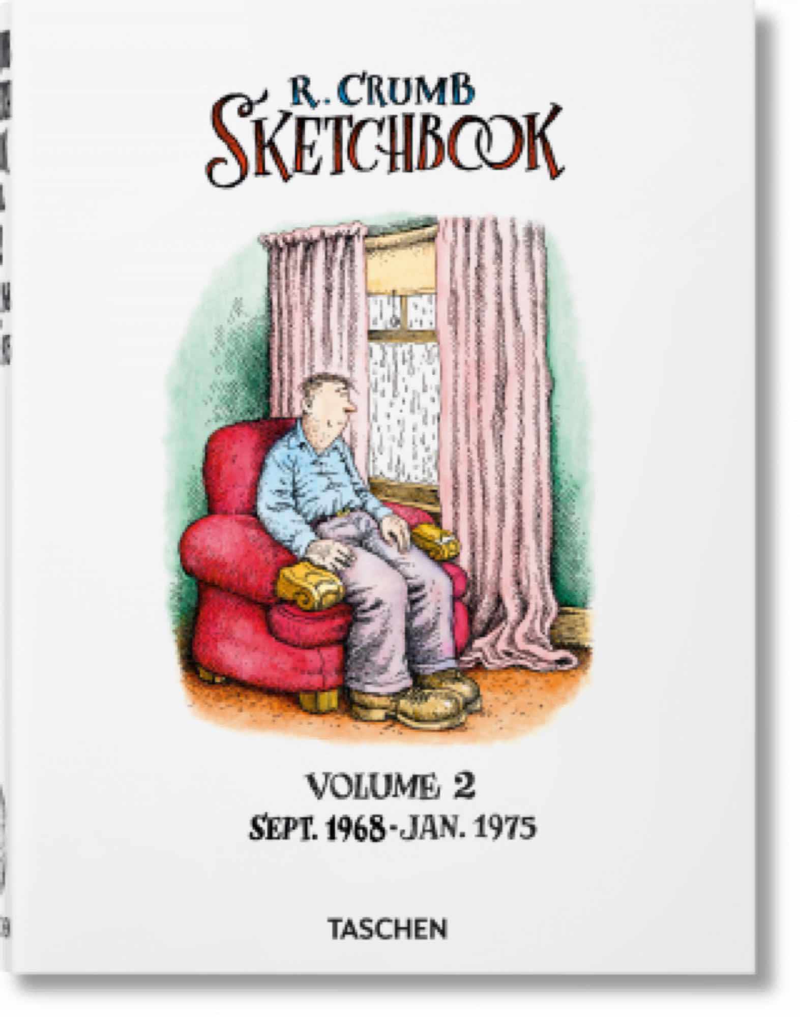 ROBERT CRUMB. SKETCHBOOK. VOL. 2: SEPT 1968-JAN 1975
