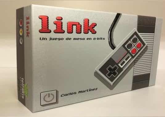 LINK. UN JUEGO DE MESA EN 8 BITS