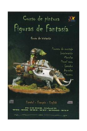 CURSO DE PINTURA - FIGURAS DE FANTASIA - NIVEL BASICO  - CD